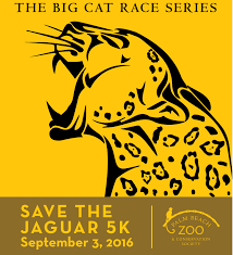 Save The Jaguar 5K 2016 Logo