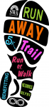 5K Run Away Logo