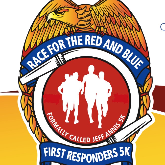 Race For Red and Blue Logo