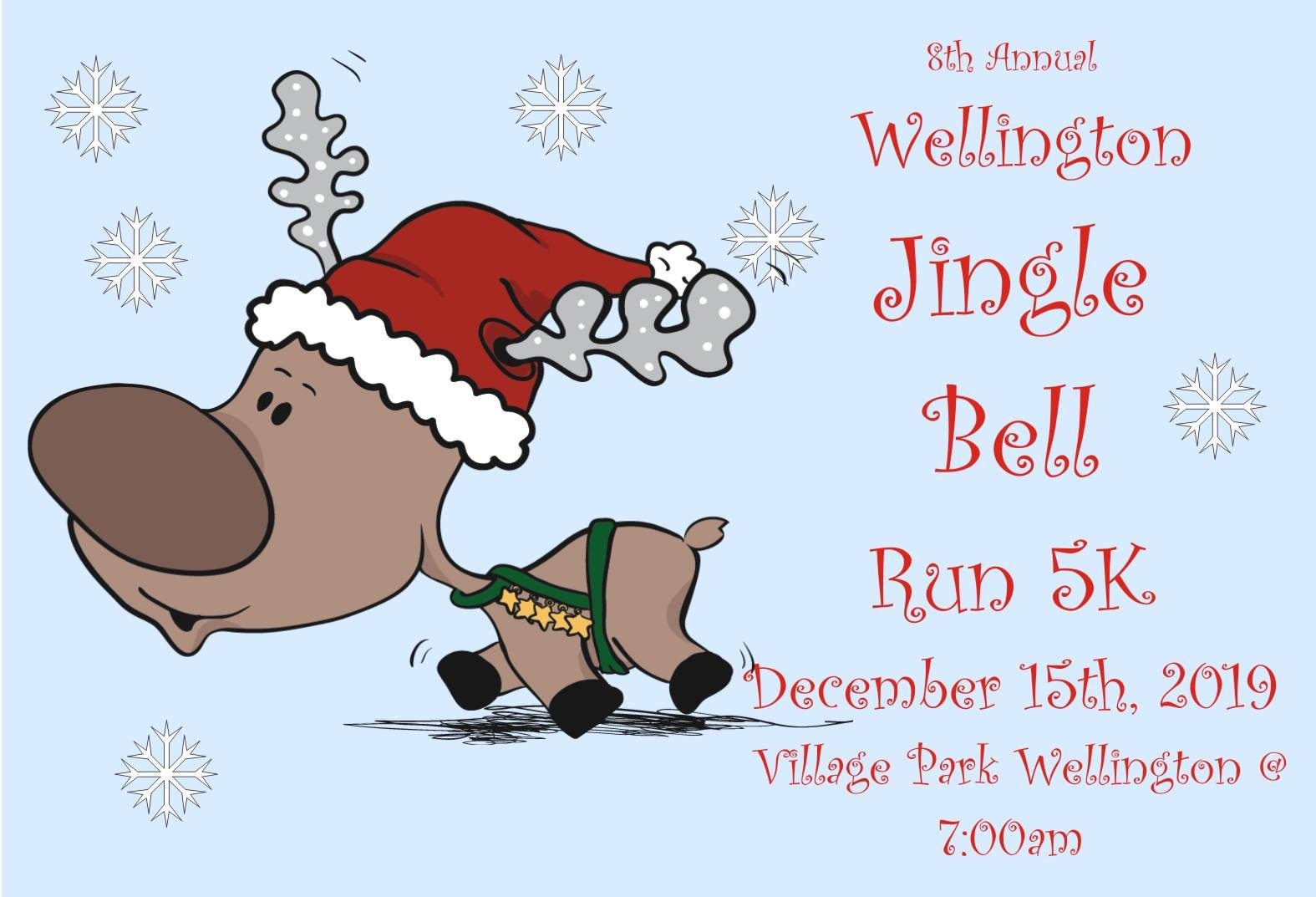 Wellington Holiday Run Logo 2019
